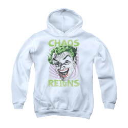 Image Closeup for Batman Classic TV Youth Hoodie - Chaos Reigns