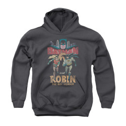 Image Closeup for Batman Classic TV Youth Hoodie - Classic Duo