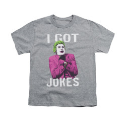Image for Batman Classic TV Youth T-Shirt - Got Jokes