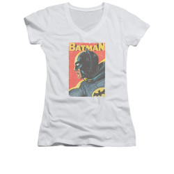 Image for Batman Classic TV Girls V Neck - Vintman