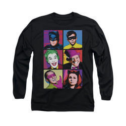 Image for Batman Classic TV Long Sleeve Shirt - Pop Cast