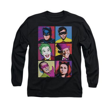 Image for Batman Classic TV Long Sleeve Shirt - Pop Cast