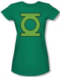 Image for Green Lantern GL Emblem Girls Shirt