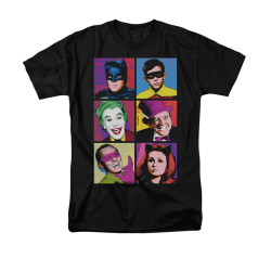 Image for Batman Classic TV T-Shirt - Pop Cast