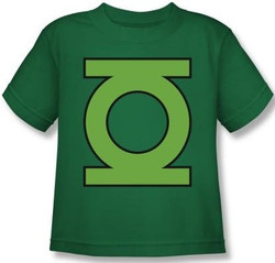 Image for Green Lantern GL Emblem Kid's T-Shirt