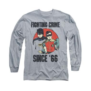 Image for Batman Classic TV Long Sleeve Shirt - Since 66