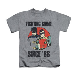 Image for Batman Classic TV Kids T-Shirt - Since 66