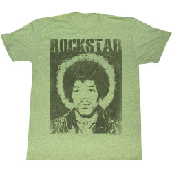 Image for Jimi Hendrix T-Shirt - Green with Envy