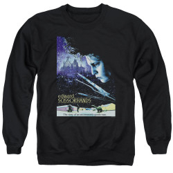 Image for Edward Scissorhands Crewneck - Poster