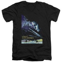 Image for Edward Scissorhands V Neck T-Shirt - Poster