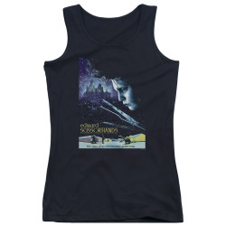 Image for Edward Scissorhands Girls Tank Top - Poster