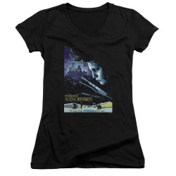 Image for Edward Scissorhands Girls V Neck - Poster