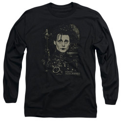 Image for Edward Scissorhands Long Sleeve Shirt - Edward