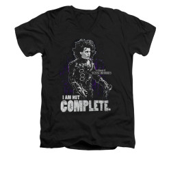 Image for Edward Scissorhands V Neck T-Shirt - Not Complete