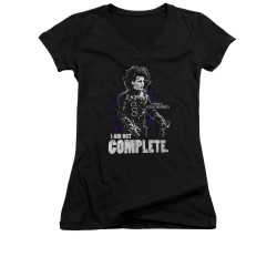 Image for Edward Scissorhands Girls V Neck - Not Complete