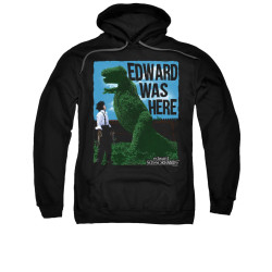 Image for Edward Scissorhands Hoodie - Edward Was Here