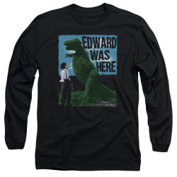 Image for Edward Scissorhands Long Sleeve Shirt - Edward Was Here