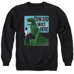 Image for Edward Scissorhands Crewneck - Edward Was Here