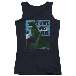 Image for Edward Scissorhands Girls Tank Top - Edward Was Here