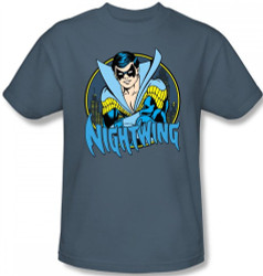 Image Closeup for Nightwing T-Shirt