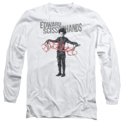 Image for Edward Scissorhands Long Sleeve Shirt - Show & Tell