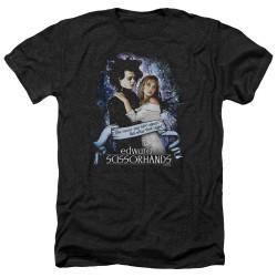 Image for Edward Scissorhands Heather T-Shirt - That Night