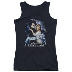 Image for Edward Scissorhands Girls Tank Top - That Night