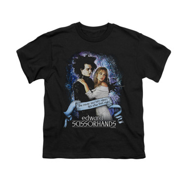 Image for Edward Scissorhands Youth T-Shirt - That Night