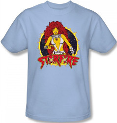 Image Closeup for Starfire T-Shirt
