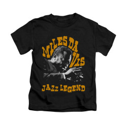 Image for Miles Davis Kids T-Shirt - Jazz Legend