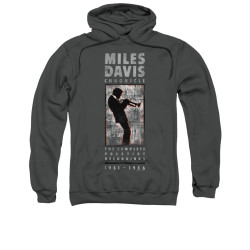 Image for Miles Davis Hoodie - Miles Silhouette