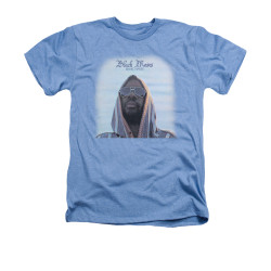 Image for Isaac Hayes Heather T-Shirt - Black Moses