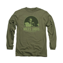 Image for Miles Davis Long Sleeve Shirt - The Green Miles