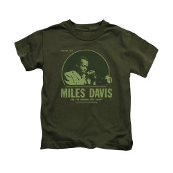 Image for Miles Davis Kids T-Shirt - The Green Miles
