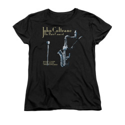 Image for John Coltrane Womans T-Shirt - Paris Coltrane