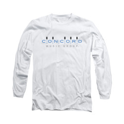Image for Concord Music Long Sleeve Shirt - Concord Logo