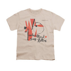 Image for Thelonious Monk Youth T-Shirt - Monk Sonny Rollins