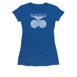 Image for Bluesville Records Girls T-Shirt - Distressed