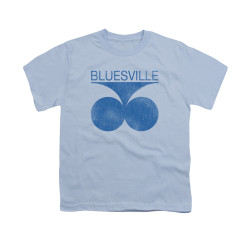 Image for Bluesville Records Youth T-Shirt - Retro