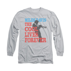 Image for Miles Davis Long Sleeve Shirt - Cool Lives