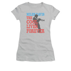 Image for Miles Davis Girls T-Shirt - Cool Lives