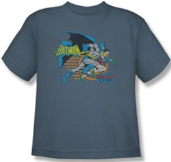 Image for Batman Youth T-Shirt - Duo