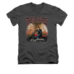Image for Cry Baby V Neck T-Shirt - Drapes