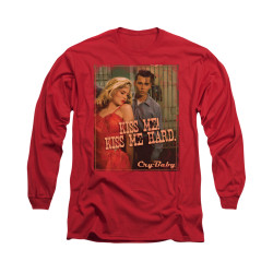 Image for Cry Baby Long Sleeve Shirt - Kiss Me