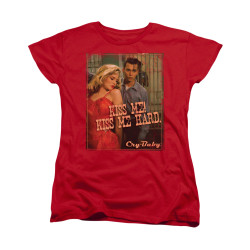 Image for Cry Baby Womans T-Shirt - Kiss Me