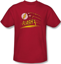 Image Closeup for Flash Like Lightning T-Shirt