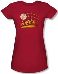 Image for Flash Like Lightning Girls Shirt