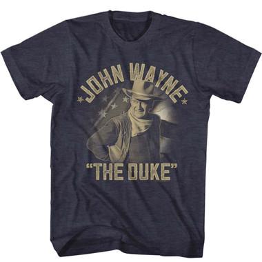 Image for John Wayne Classic Duke T-Shirt