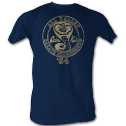 Image for Karate Kid T Shirt - Cobra Kai 84 Remix
