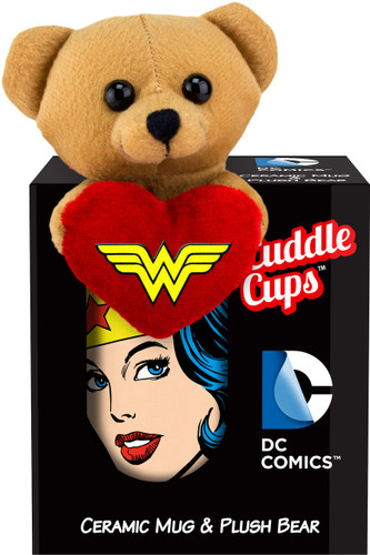 Image for Wonder Woman Face Cuddle Cup